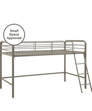 Junior Loft Bed Frame With Ladder, Silver for Sale in Cordova, TN