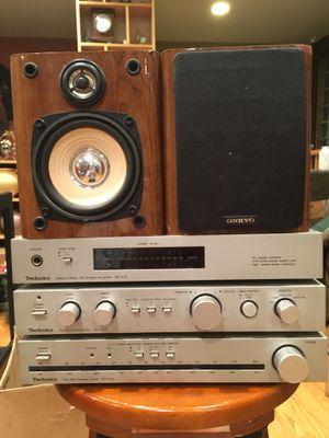 Technic mini stereo tower for Sale in Chicago, IL