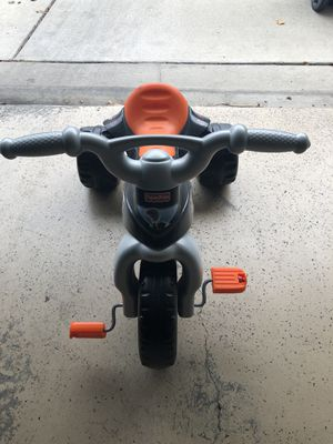 Fisher Price Kids Harley Davidson Bike Tricycle for Sale in Columbia, MD