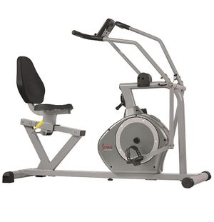 Sponsored Visit the Sunny Health & Fitness Store 4.3 out of 5 stars 979 Reviews Sunny Health & Fitness Magnetic Recumbent Bike Exercise Bike, 350lb for Sale in Upland, CA