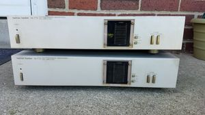 Pair of Harmon Kardon hk775 Ultrawideband Monophonic DC Amplifiers for Sale in Columbus, OH