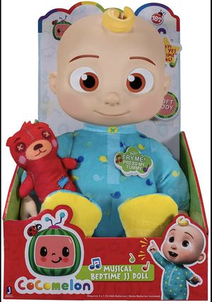 Cocomelon Musical Bedtime JJ Doll for Sale in Bowie, MD