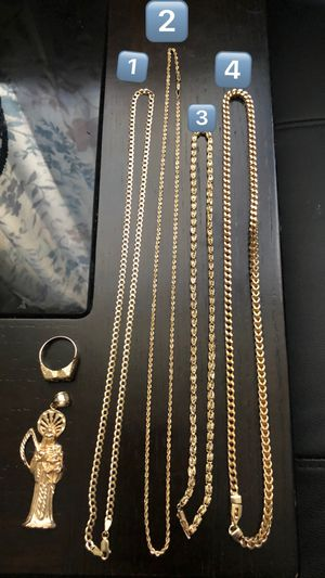 Solid gold chains for Sale in Las Vegas, NV