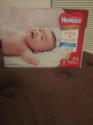 Huggies size 1 for Sale in Riverview, FL