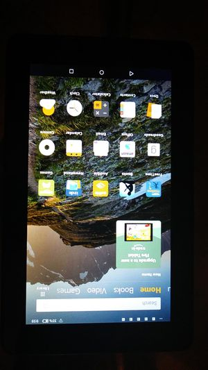 Amazon Kindle Fire 7in with Alexa unlock an almost brand new condition not one scratch on it $50 for Sale in North Miami, FL