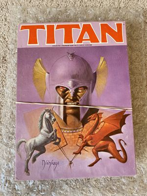 Titan Avalon hill board game unpunched cards for Sale in Menifee, CA
