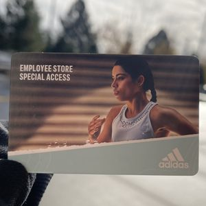 Employee Store Passes For ADIDAS 50% Off for Sale in Vancouver, WA
