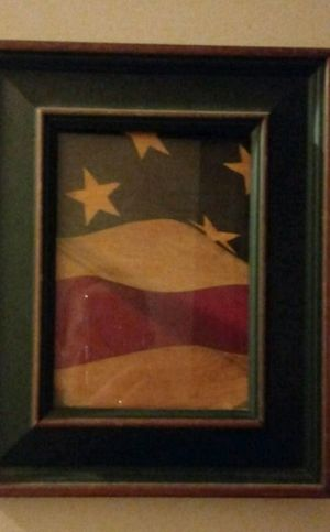 Framed Flag Picture for Sale in Bloomington, IL