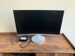 Samsung 1080p HD curved monitor for Sale in Corpus Christi, TX