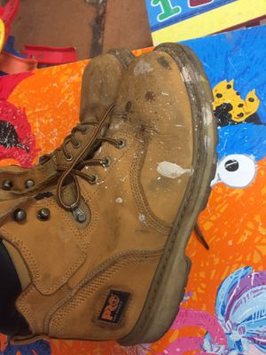 Boots work timberlands size 10.5 for Sale in North Las Vegas, NV