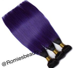 Ombré Purple/black Peruvian Human hair for Sale in Atlanta, GA