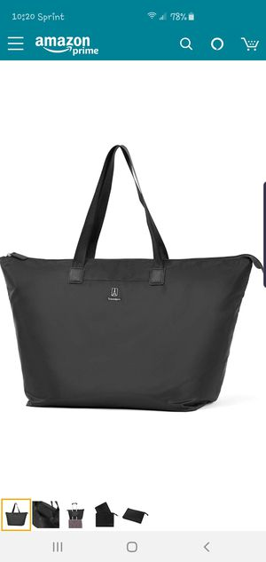 Essentials Foldable Tote Travel for Sale in Charlotte, NC