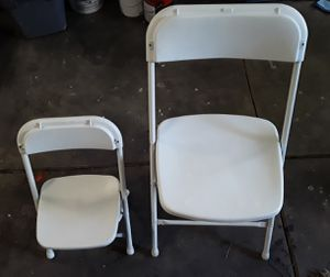 Kids Plastic Folding Chairs 20 Count for Sale in Elk Grove, CA