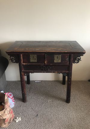 Antique Chinese alter table - appraised for Sale in Denver, CO
