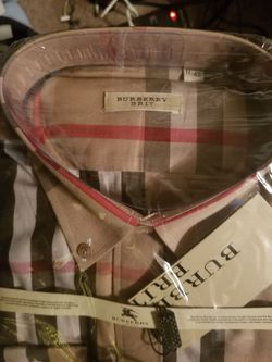 Button Front Burberry for Sale in Williamsport,  PA
