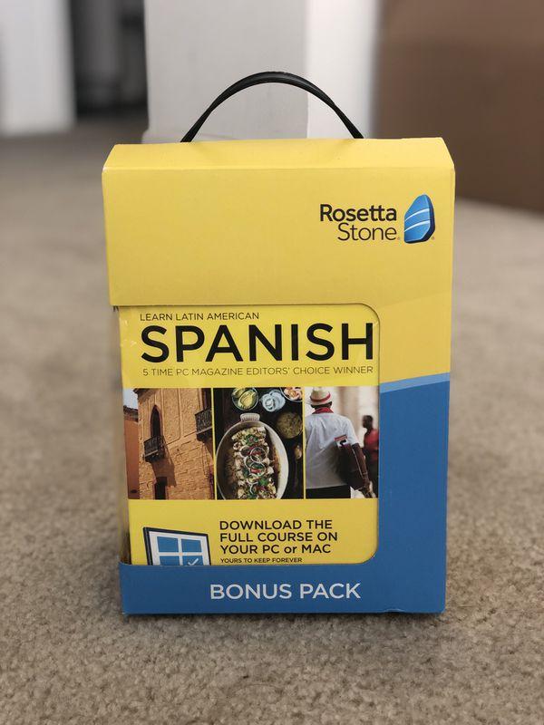 Rosetta Stone- Spanish, BRAND NEW, NEVER BEEN USED!