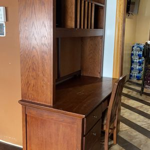 Wood Desk for Sale in Aurora, IL