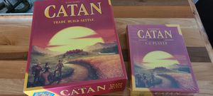 Catan board game and extention for Sale in Santee, CA