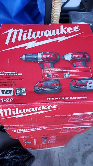 Milwaukee M18 combo kit for Sale in Grover Beach, CA