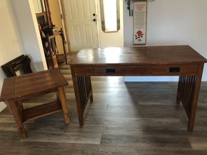 Sofa table/desk and end table for Sale in Modesto, CA