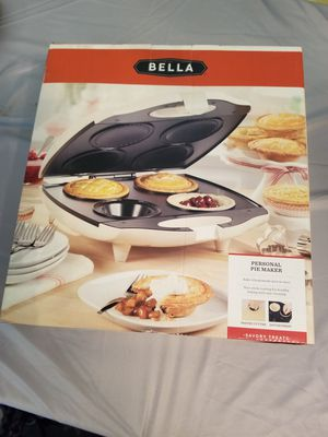 New Bella Personal Pie Maker for Sale in Upland, CA