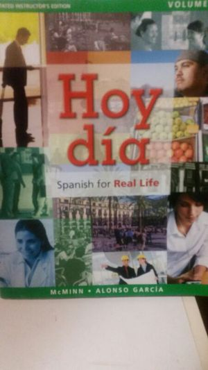 A book for beginners who wants to learn Spanish for Sale in Detroit, MI