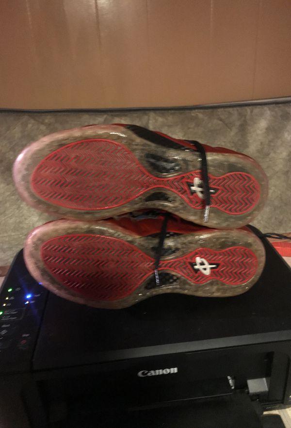 Size 12 crimson foamposite