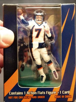 John Elway Action Flat Figure for Sale in Hurst, TX