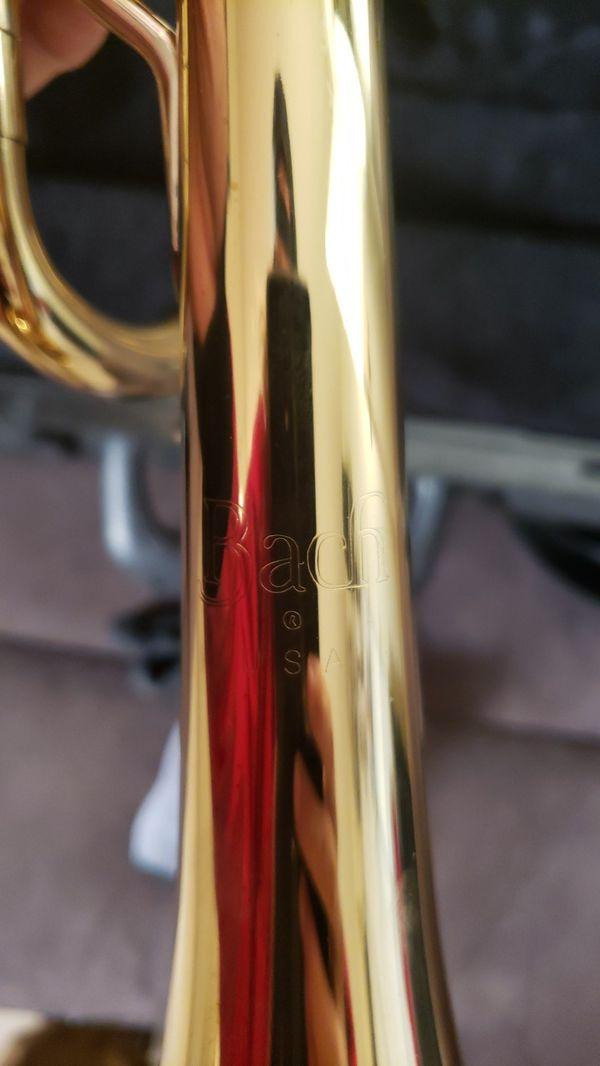 BACH Selmer Trumpet + Mouthpiece + Case! Perfect for Student / Intermediate Musician