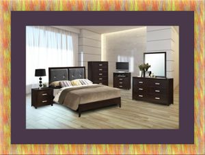 B120 Bedroom set new with mattress and box and free shipping for Sale in Rockville, MD