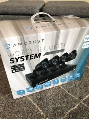 Brand new Video Security System Amcrest 960h4 for Sale in Vancouver, WA