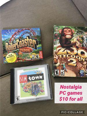 Pc games for Sale in Rancho Cordova, CA
