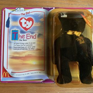 The End Beanie Baby for Sale in Orlando, FL