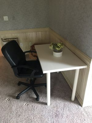 Ikea desk and chair for Sale in Duluth, GA