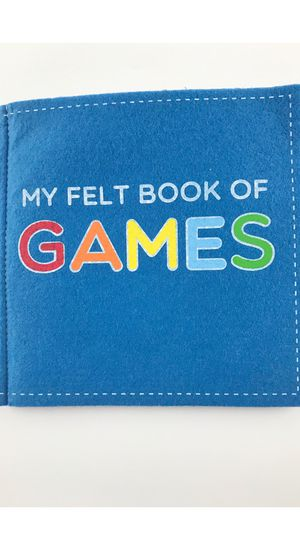 Kid book - my felt book of games for Sale in Fontana, CA