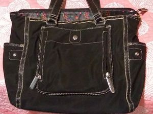 Black canvas ladies bag for Sale in Acworth, GA