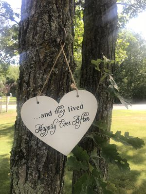 Double sided wedding sign for Sale in Pine River, MN
