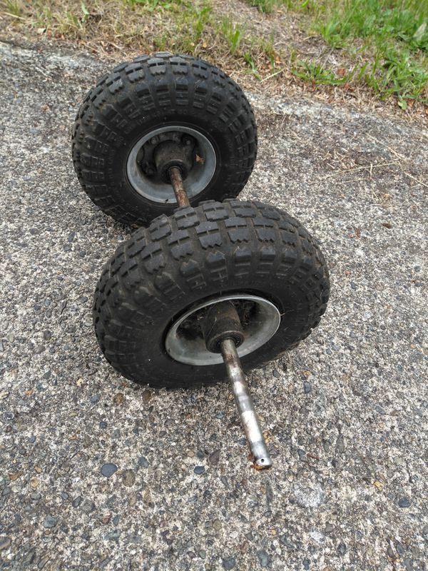 Set of Dolly truck wheels