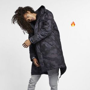NEW Sz 3XL Available Men's Nike NSW Synthetic Filled Parka Coat Camo AA8859-475 for Sale in Willingboro, NJ