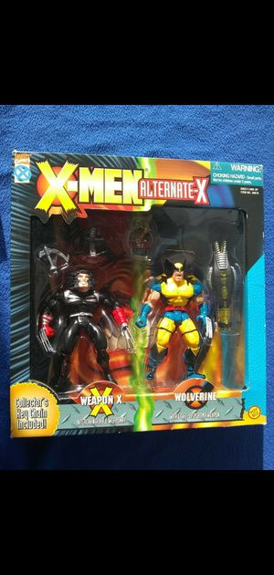 1996 xmen wolverine alternate-x action figure duo set toys r us exclusive sealed never opened for Sale in Manteca, CA
