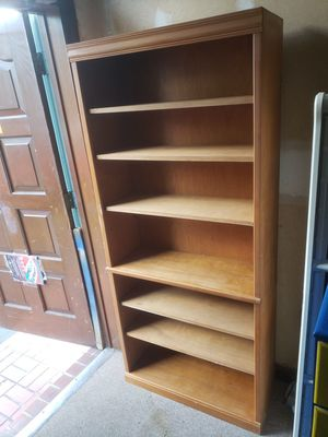 Wood book shelve for Sale in St. Petersburg, FL
