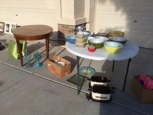 Garage sale today. 45011 W Juniper Ave. Maricopa City. 8-2. for Sale in Maricopa, AZ