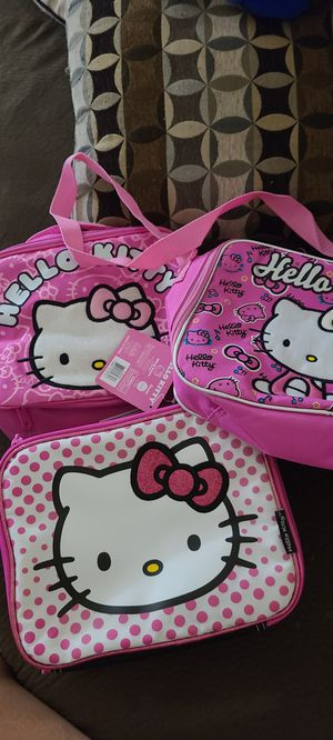 3 New Hello kitty lunch tote. for Sale in Fontana, CA