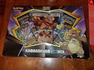 POKEMON KANGASKHAN GX BOX for Sale in Sanford, FL