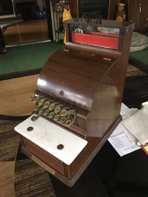 Antique national cash register works fine very good condition $250 for Sale in Varna, IL