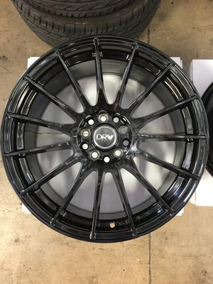 "Brand New 18"" Inch Diablo D15 18X8 Gloss Black Wheels Rims Rines 5X105 5X4.13 5X114.3 5X4.5 for Sale in Austin, TX"