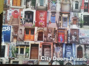 CITY DOOR PUZZLE GAME for Sale in Rome, NY