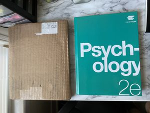 Psychology 2e ISBN: 9781975076450 for Sale in Bridgeport, CT