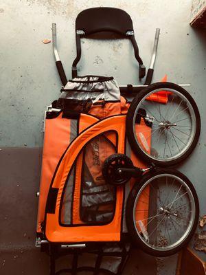 Avenir Sport Dual Bike Trailer / Stroller Two Seater for Sale in Plano, TX