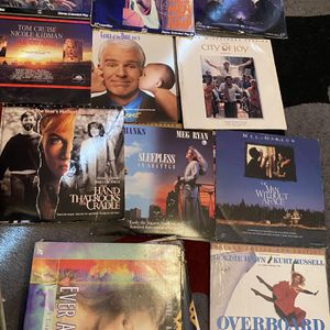 Movie Records And Karaoke Laser Disc for Sale in Las Vegas, NV